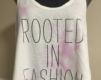 Rooted in fashion razor tank