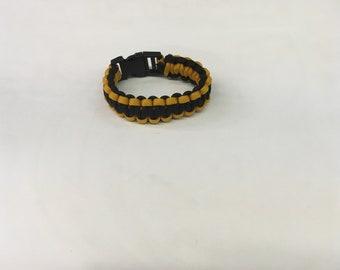 Pittsburgh Steelers Paracord Bracelet
