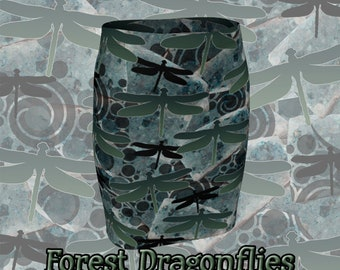 Forest Dragonflies - Fitted Skirt!