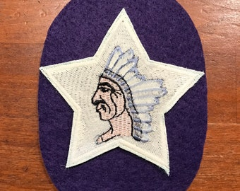 World War I US Army 2nd Division,MG patch wool