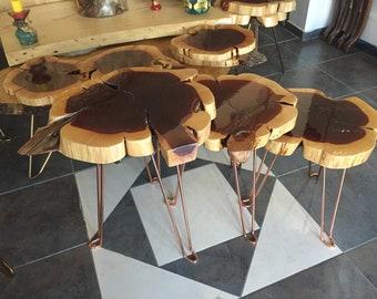 Live edge table, Table epoxy resin, table liquid glass, designer table, Bespoke epoxy table, Bespoke live edge table, coffee table