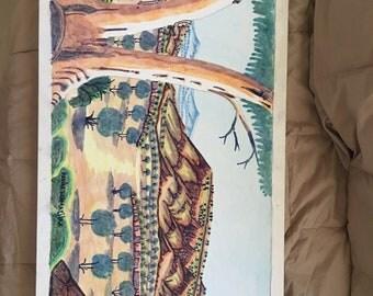 Aboriginal Art - Namatjira