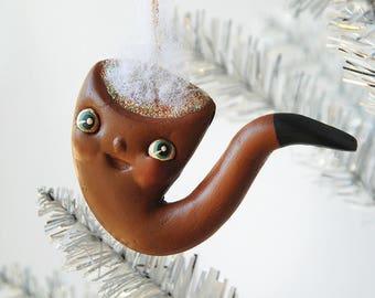 Smoking Pipe Ornament