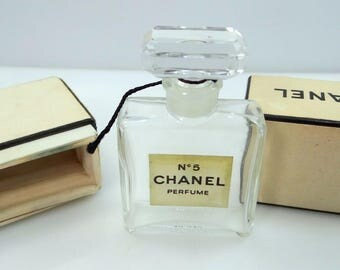 Chanel No 5 Perfume Bottle with Original Box