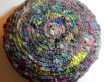 Decorative Pillow-Handspun Art Yarn