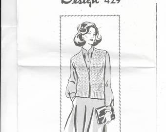 Crocheted Vest Pattern 429