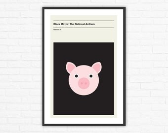 Black Mirror Season 1, Episode 1: The National Anthem Minimalism Movie Poster