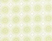 Pepper and Flax - Medallion in Sprig Green: sku 29044-18 cotton quilting fabric by Corey Yoder for Moda Fabrics