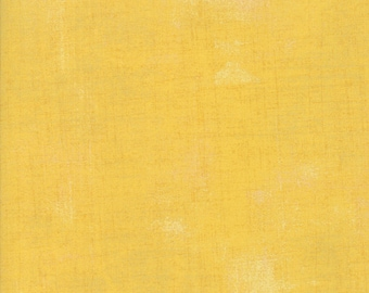 Biscuits and Gravy - Grunge in Chiffon Yellow: sku 30150-15 cotton quilting fabric by BasicGrey for Moda Fabrics