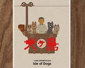 ISLE of DOGS Wes Anderson Print - Limited Edition