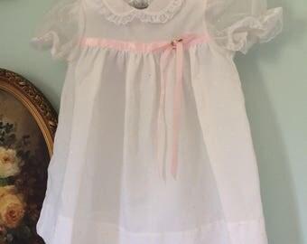 Little dot vintage baby dress