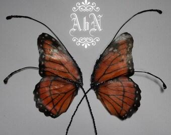 Fairy Wings - Monarch Butterfly wings MO1 -  For OOAK Art Dolls