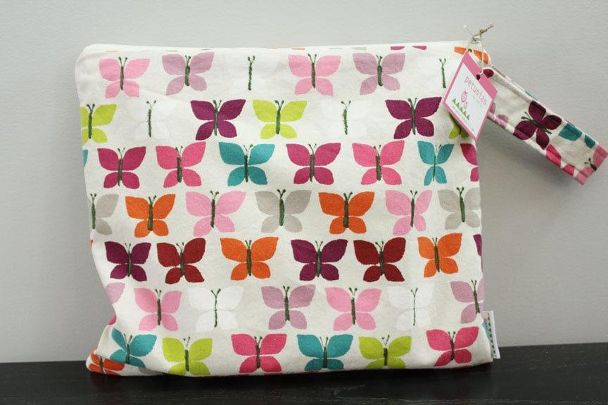 Wet Bag Wetbag Diaper ICKY Proof Butterfly Gym Swim Cloth Accessories Zipper Gift Newborn Baby Kids Beach
