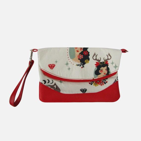 Madame Handmade Clutch crossbody purse
