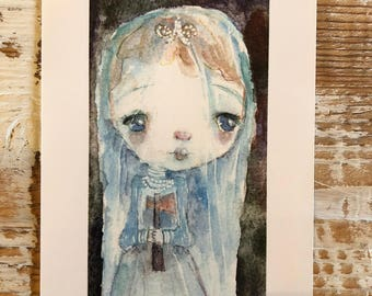 Constance Hatchaway - 4x6 art print by Mindy Lacefield