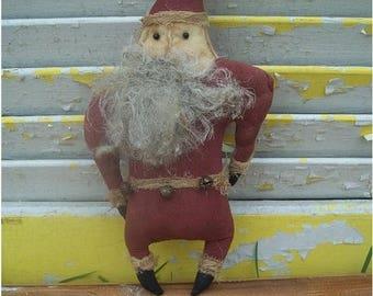 CustomerAppreciationSale Primitive Christmas Stump Chunk Santa
