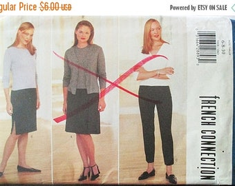 60% OFF SALE 1990s Sewing Pattern Butterick 5908 Misses Skirt & Pants Pattern Size 6, 8, 10 Uncut