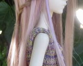 Braid Multi-color wig for Doll Chateau Bella and like-sized dolls 6/7 bjd
