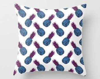 Pineapple Print Throw Cushion Covers (pillow insert not included)