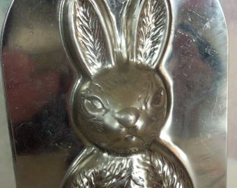 Stainless Steel /  Easter Bunny Rabbit / Candy Mold