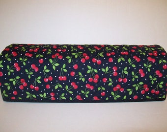 Cricut Dust Cover / Expression / Brother Scan-N-Cut Cover / Design n Cut / Cricut Machine Cutter Protector / Quilted / Cherries On Black