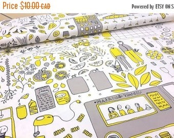 SALE - Family - IKEA Daggskal Cotton Fabric