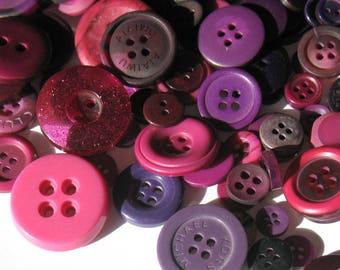 Plum Purple - Button Selection