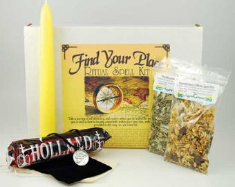 Find your Place Spell Boxed Ritual Kit-Spells for Love, Spells that work, spell kits, altar kits, witchcraft spells, witch spells,