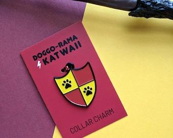 Gryffindor Pet Collar Charm Harry Potter Dog House Cat Nerd Accessory