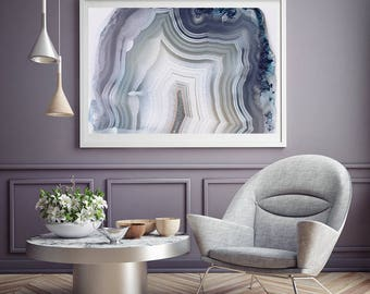 agate geode prints digital downloads by shinehauscollective. Black Bedroom Furniture Sets. Home Design Ideas
