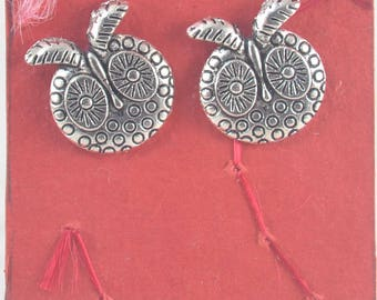 OWL Stud Earrings - Small Silver Owls Earrings