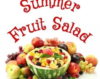 July FOTM Candle Gem - Summer Fruit Salad