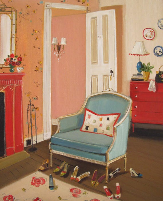 The Barbizon Hotel 1953.  Art Print