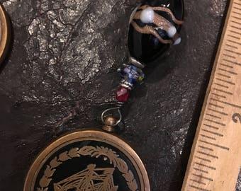 Calendar 50 Year Brass Keychain