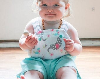 SALE Sun Suit Pattern PDF Girls up to 6 and baby boys up to 2t