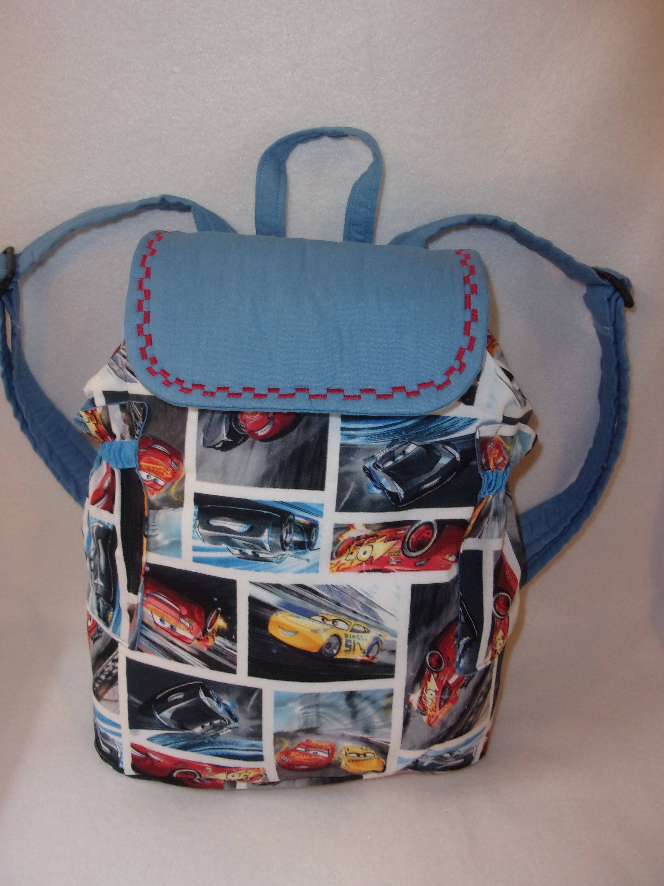 Pixar cars 3 back pack shool book bag college too 3 sizes 3 prints pixar cars 3 back pack shool book bag college too 3 sizes 3 prints personalize negle
