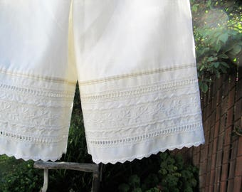 Ready now!  Recycled Upcycled Pillowcase Bloomers Toddler 4T - 5T