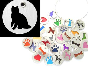 Bengal Cat Sterling Silver Necklace Pendant Charm - Lots of Colors