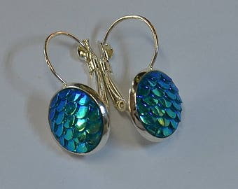 Dragon Scale Earrings