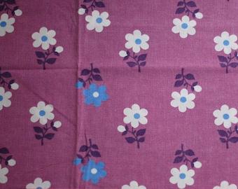 Seventies vintage fabric - 125x40 cm.