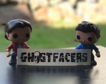 Supernatural Ghostfacers Inspired Car, Laptop, or Decor Decal