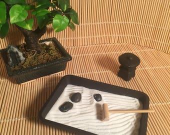 Mini Zen Garden Etsy