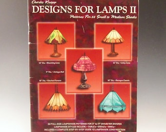 Stained Glass Pattern Book for Lamps - 'Designs for Lamps 2' by Charles Knapp