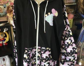 Sweetie Dream the Unicorn Jacket, Starry Rainbow Unicorn Jacket, fairykei jacket