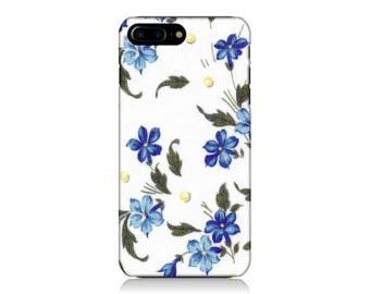 Floral iPhone Case, Flower iPhone Case, Vintage iPhone Case, iPhone 6 Case, iPhone 7 Case, Galaxy S8 Case, Galaxy S7 Case, Galaxy Edge Case
