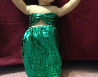 American Girl Doll Mermaid 2 Piece Set