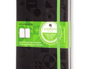 Custom Altered Evernote Smart Moleskine Notebook Journal Sketchbook