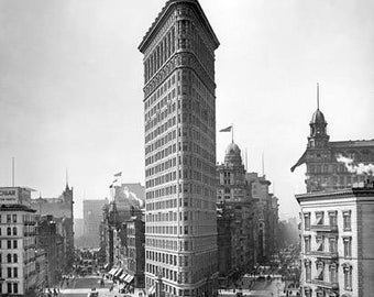 Flatiron Building 1900's Photo