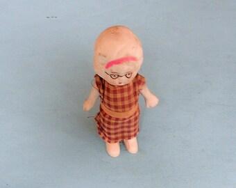 Antique Vintage Doll Japanese Doll Figurine