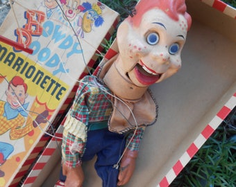 Vintage Howdy Doody Puppet-